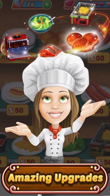 Food Court Hamburger Fever: Burger Cooking Chef screenshot-4