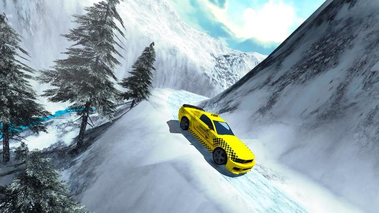 Modern Crazy Cab Taxi Driver : Hill Driving Sim screenshot-4