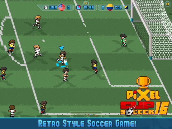 Pixel Cup Soccer 16 на iPad