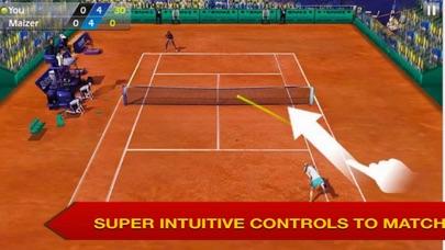 Play Tennis Adventure screenshot one
