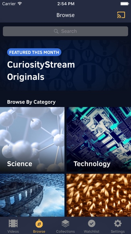 CuriosityStream screenshot-4