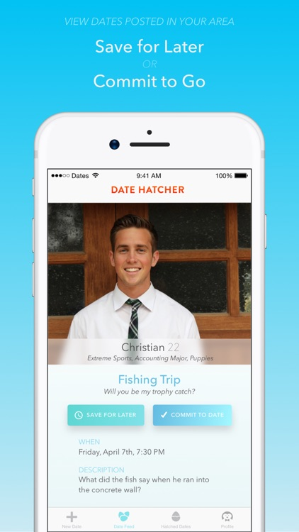 Date Hatcher - The Dating App for Real Dates