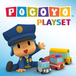 Pocoyo Playset -  Community Helpers