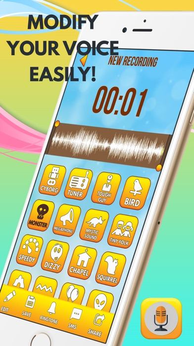 Voice Recorder & Changer for Pranks screenshot three
