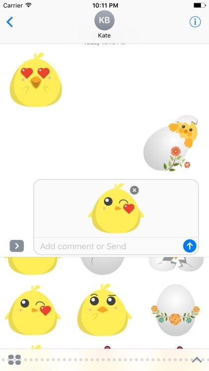 Cute Chickens - Fc Sticker screenshot-3