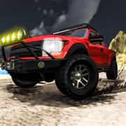 4 × 4 越野汽车驾驶模拟器 - 僵尸生存和极端山驾驶游戏