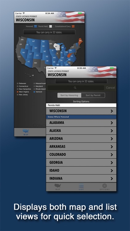 Concealed Carry App - CCW Permit Law & Reciprocity screenshot-0