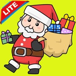Renk Noel Baba Noel çocuk Boyama Kitabı Sayfaları App Storeda