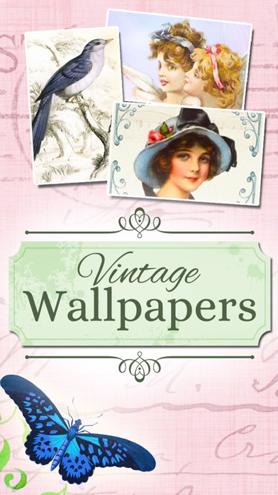 VINTAGE Wallpapers - Retro nostalgic backgrounds screenshot 1