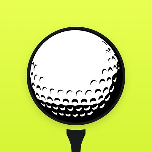 TrackMyGolf: Golf GPS free scorecard range finder app logo