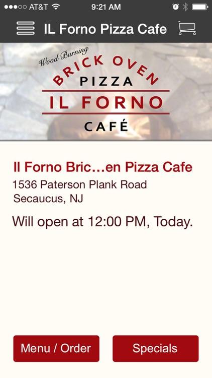 IL Forno Pizza Cafe screenshot-4