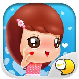 Jennie Pretty Women V.Eng Stickers By ChatStick