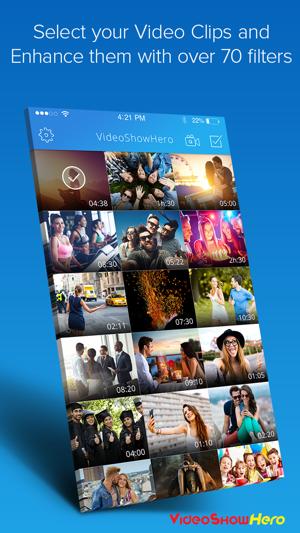 VideoShowHero   Video Editor Screenshot