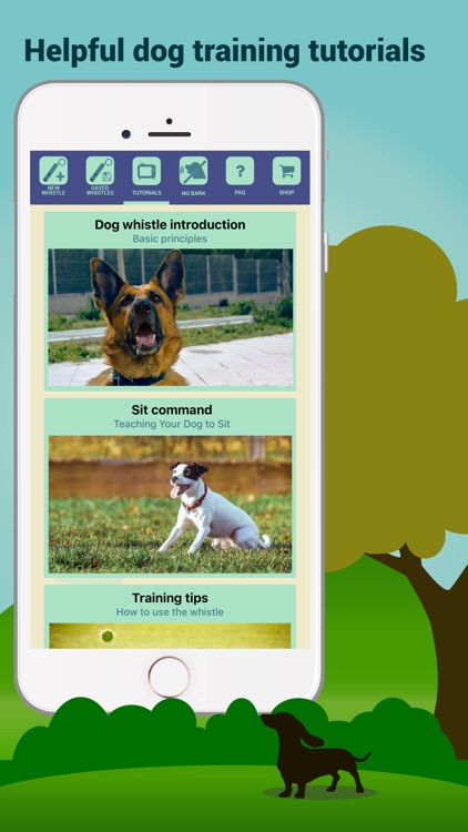 Dog Whistler – Whistle Sounds & Clicker Training