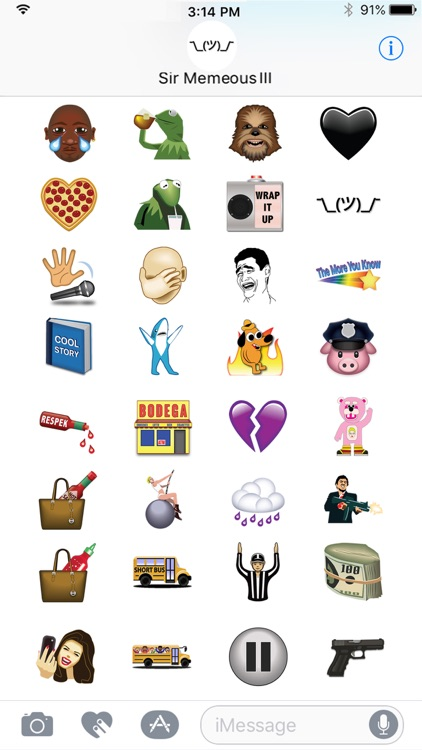 Memes & Things by Emoji Fame screenshot-3