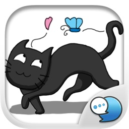 You master Cute Cat Stickers for iMessage