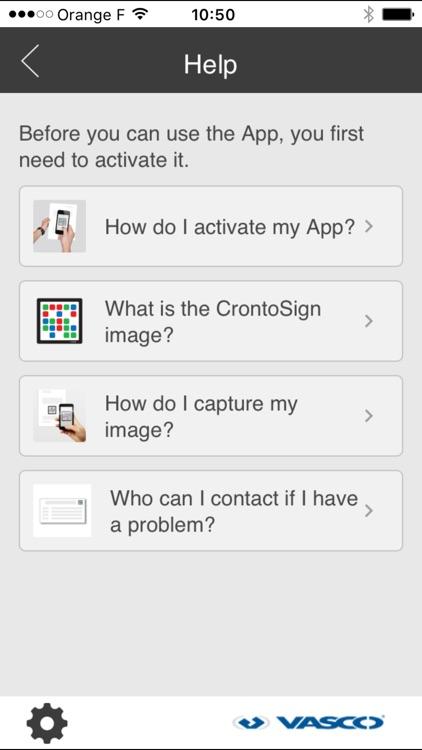 CrontoSign Swiss screenshot-3