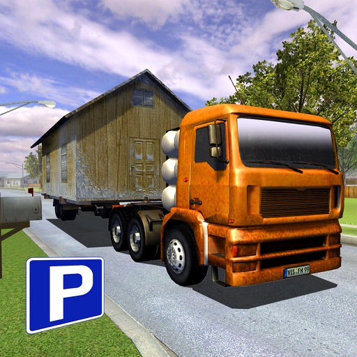 3D House Parking VR - Big Truck Edition