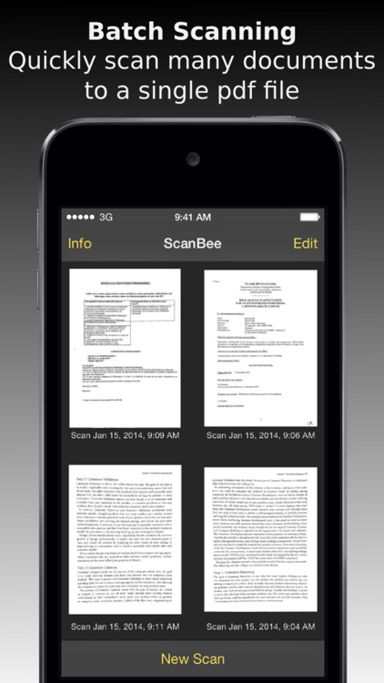 ScanBee - Scanner & copier to digitize your papers screenshot-4
