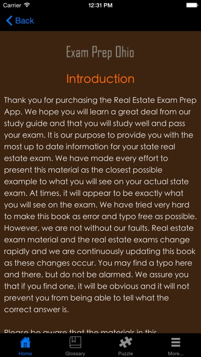 Examprepoh review screenshots