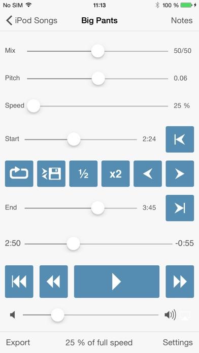 Amazing Slow Downer app image