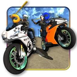 Crazy Bike Battle: Traffic Moto Xtreme Rider Stunt