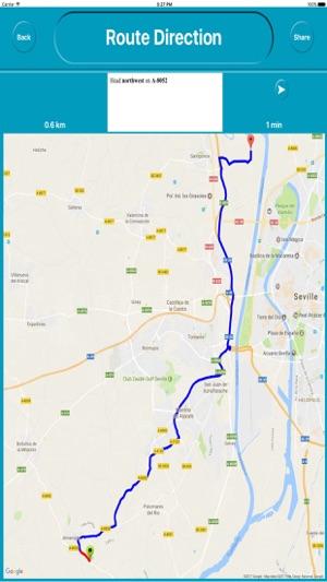 Seville Spain fline City Maps Navigation on the App Store
