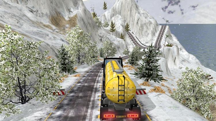 Grand Snow Truck Simulator : Cargo Truck Driver 3D