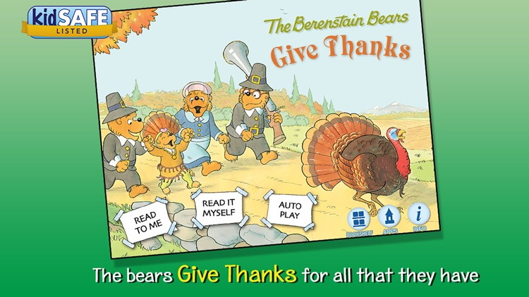 The Berenstain Bears Give Thanks screenshot-0