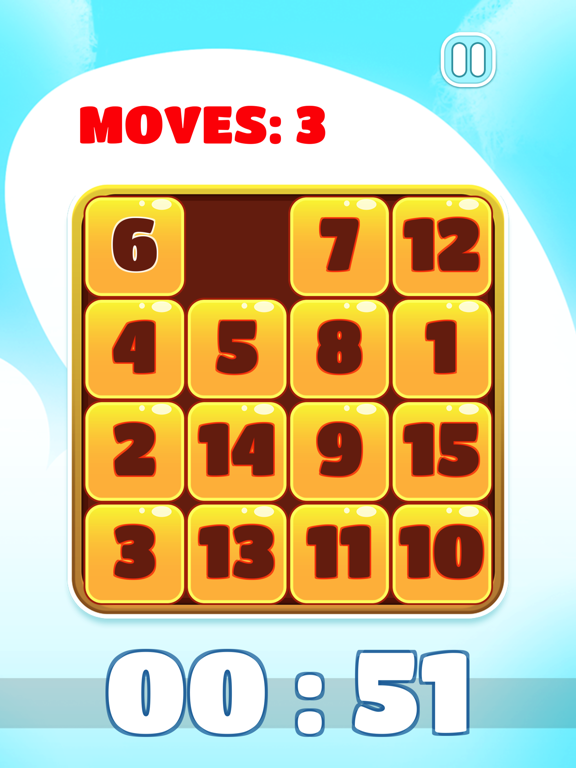 15 puzzle - Number Sliding Puzzle | App Price Drops
