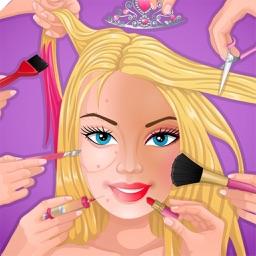 Super Makeover for Teeth, Spa, hair, Nail, Dressup