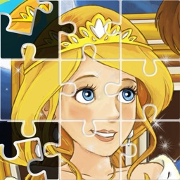 Princess Puzzles and Painting