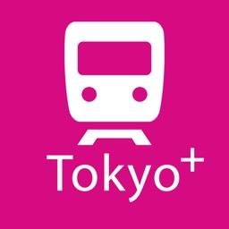 Tokyo Rail Map+ Yokohama, Saitama, Chiba