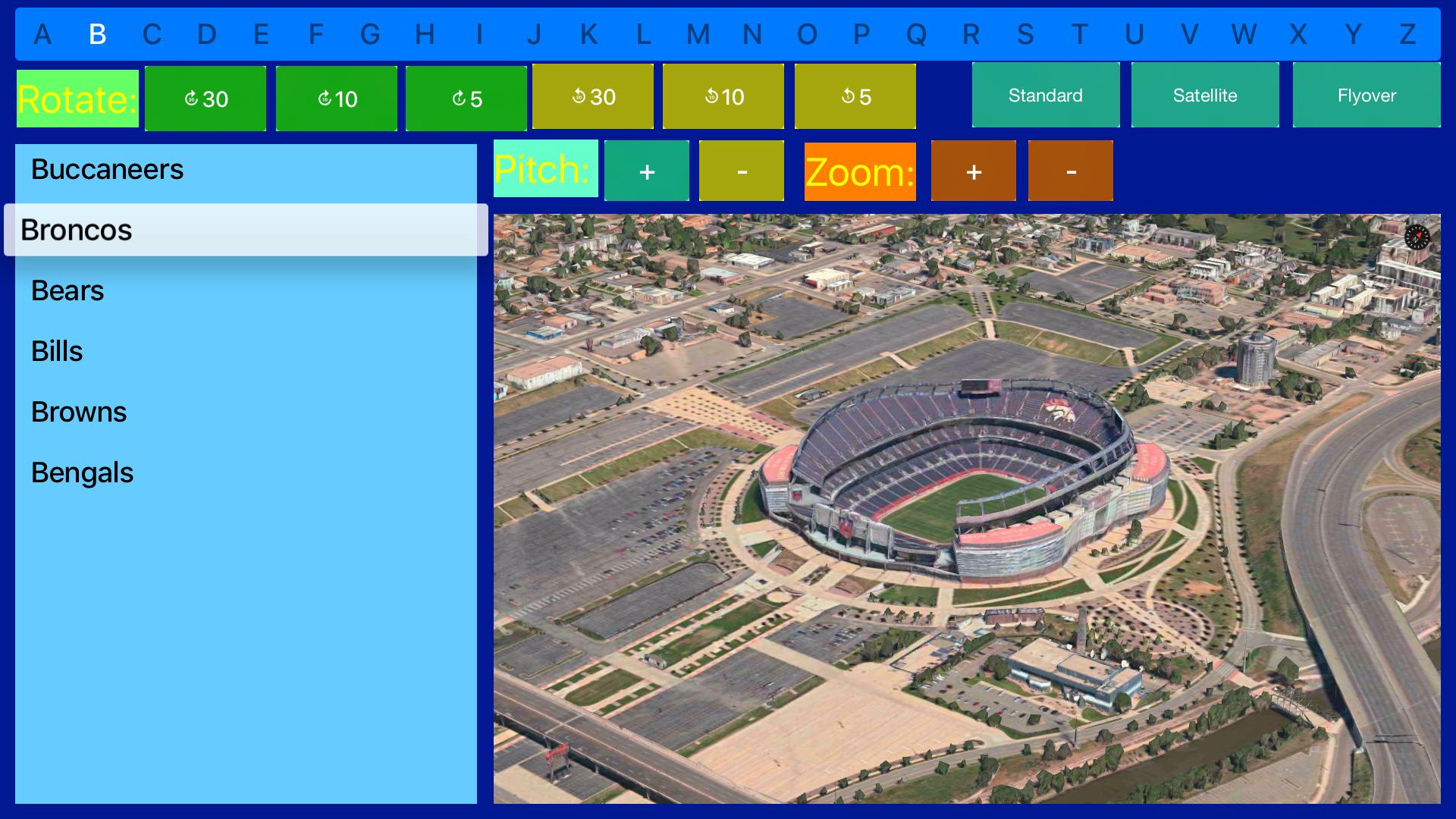 3D Sports Stadiums Lite screenshot 21