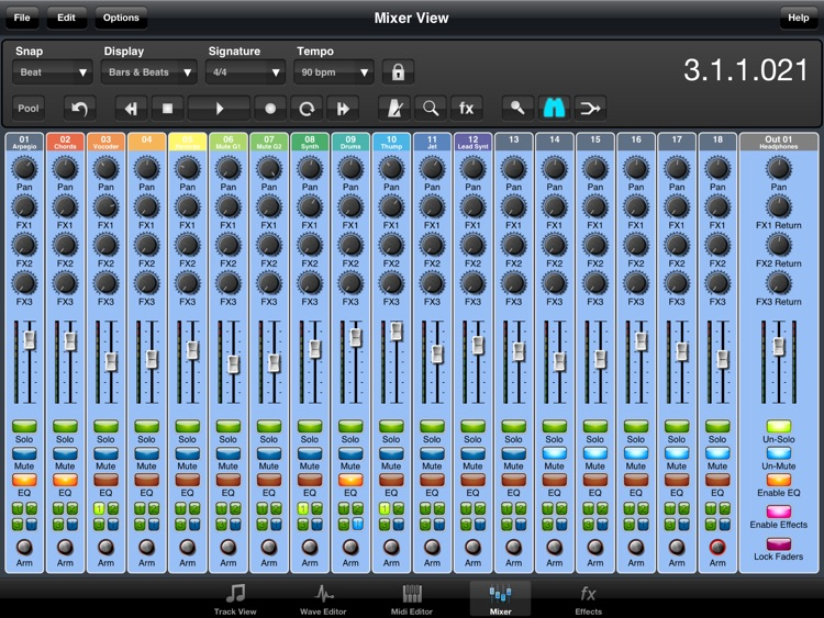 Meteor Lite Multitrack Recorder screenshot-2