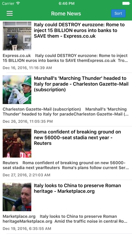 Italy & Rome News Today in English Pro