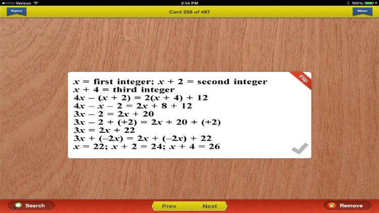 ASVAB Math Prep Flashcards Exambusters screenshot-3