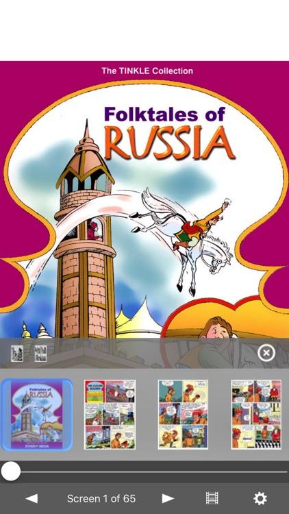 Folk Tales of Russia Digest- Amar Chitra Katha