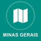 Minas Gerais, Brasilien : Offline-GPS-Navigation icon