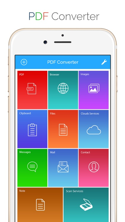 PDF Converter - Convert documents, WebPages TO PDF