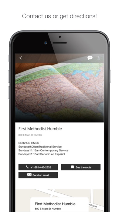 Image of First Methodist Humble for iPhone