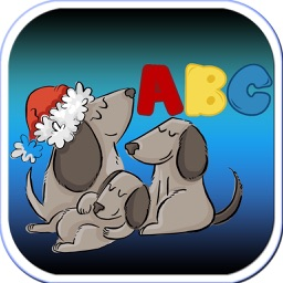 Dog Puppy Animal ABCD Education Learn Writing Kids