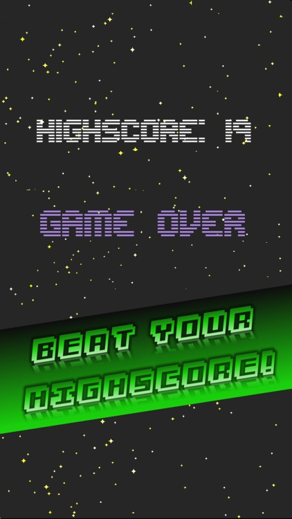 Impossible Retro Endless Arcade Game : Space Pro ! screenshot-2