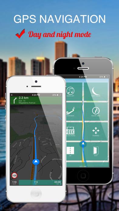 Quebec City, Canada : Offline GPS Navigation screenshot four