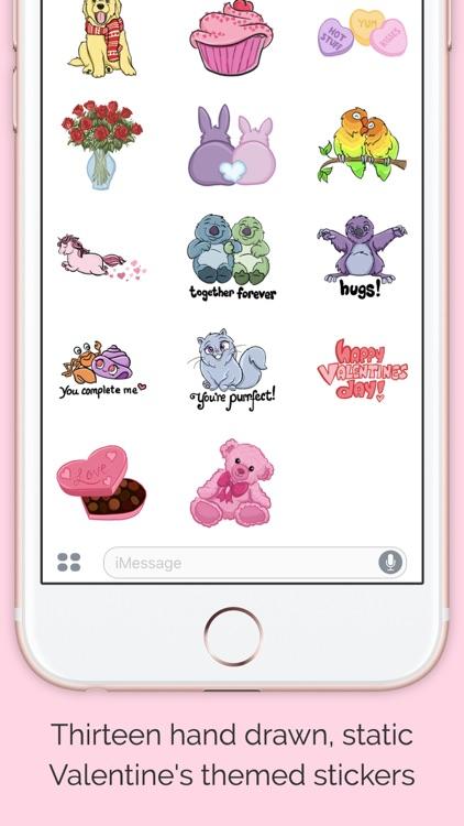 Valentine's Day Sticker Pack