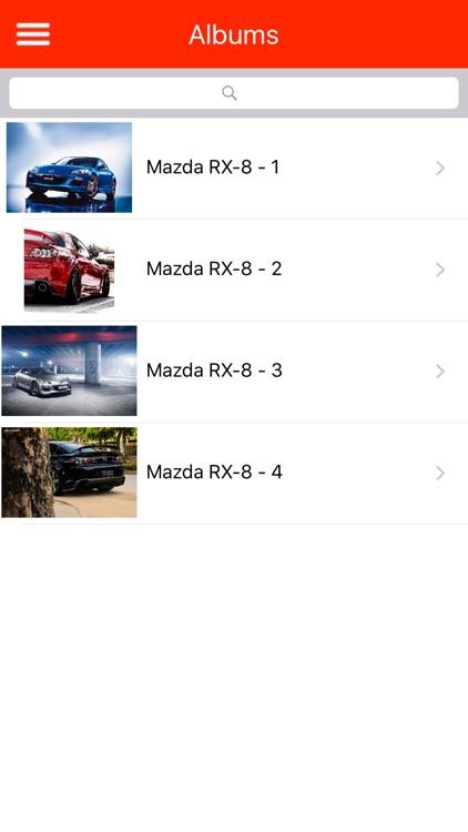 HD Car Wallpapers - Mazda Rx-8 Edition screenshot-3