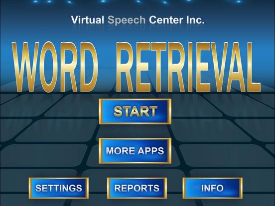 word retrieval app price drops