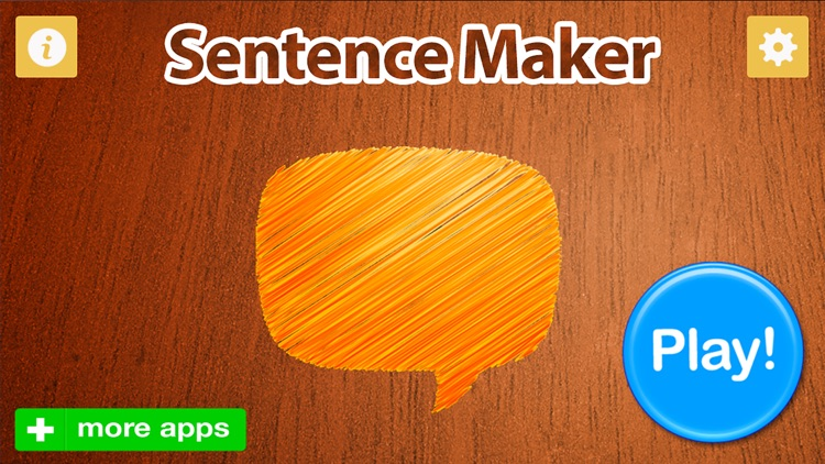 Sentence Maker screenshot-0