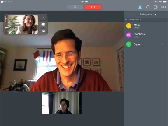 meetme video conferencing