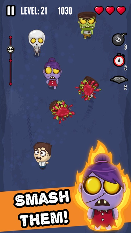 Zombie Invasion - Smash 'em All!